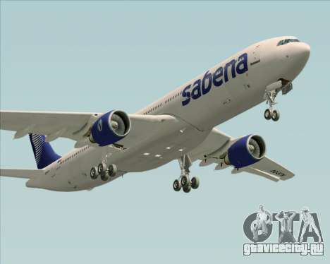 Airbus A330-300 Sabena для GTA San Andreas двигатель