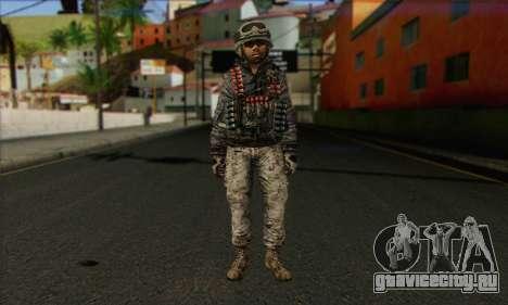 Task Force 141 (CoD: MW 2) Skin 4 для GTA San Andreas