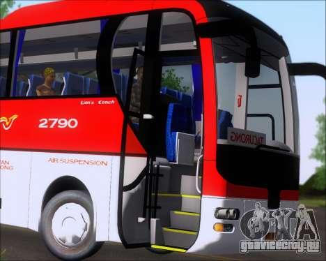 MAN Lion Coach Rural Tours 2790 для GTA San Andreas вид сверху