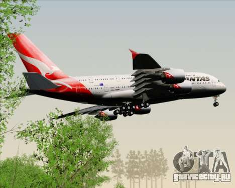 Airbus A380-841 Qantas для GTA San Andreas салон