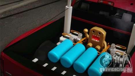 Dodge Ram 3500 для GTA San Andreas вид сзади слева