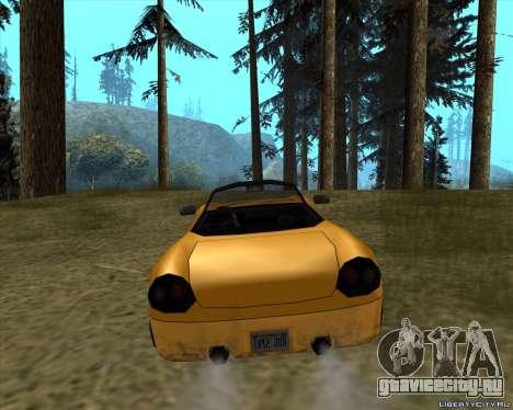 Stinger для GTA San Andreas вид сзади слева