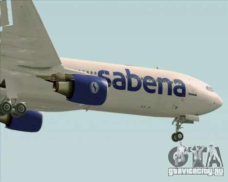 Airbus A330-300 Sabena для GTA San Andreas вид сверху