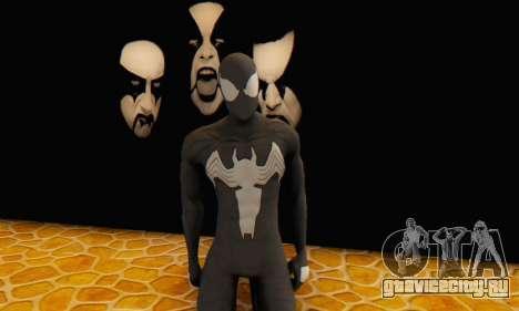 Skin The Amazing Spider Man 2 - Molecula Estable для GTA San Andreas