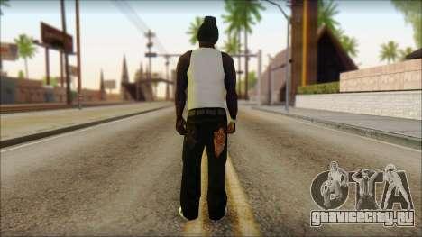Afro - Seville Playaz Settlement Skin v6 для GTA San Andreas второй скриншот