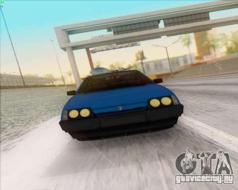ВАЗ 2109 Low Classic для GTA San Andreas вид сзади