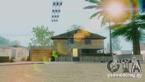 Новые текстуры домов на Гроув-стрит для GTA San Andreas