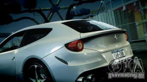 Ferrari FF 2011 v1.5 для GTA 4 вид сбоку
