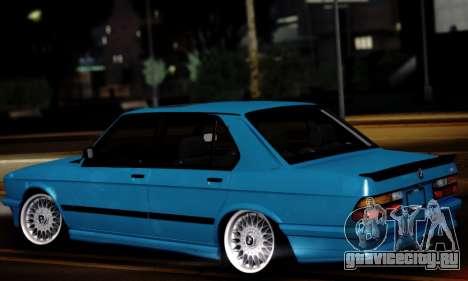 BMW M5 E28 для GTA San Andreas вид слева