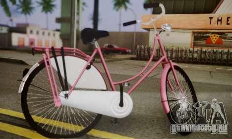 Амстердамский Велосипед для GTA San Andreas вид слева