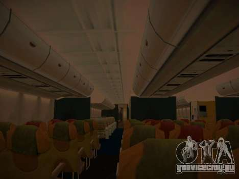Airbus A380-800 Malaysia Airlines для GTA San Andreas колёса