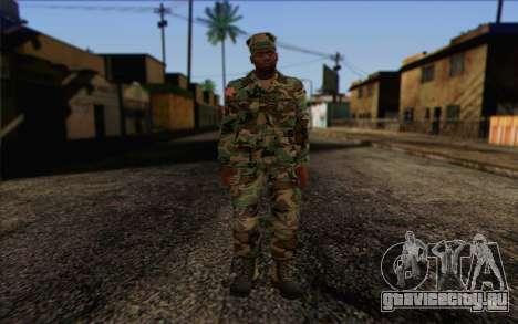 California National Guard Skin 3 для GTA San Andreas