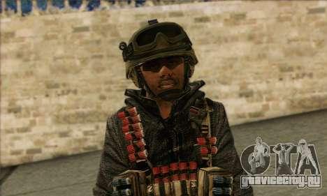 Task Force 141 (CoD: MW 2) Skin 16 для GTA San Andreas третий скриншот
