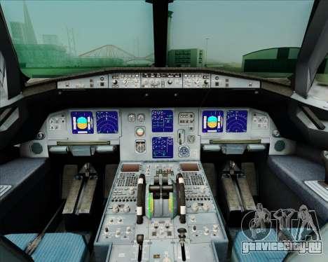 Airbus A321-231 Spanair для GTA San Andreas салон