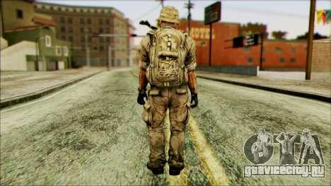 Боец (PLA) v3 для GTA San Andreas второй скриншот