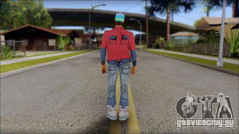 Marty from Back to the Future 2015 для GTA San Andreas второй скриншот