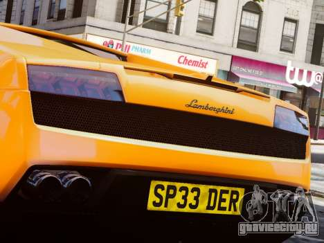 Lamborghini Gallardo LP560-4 для GTA 4 вид справа