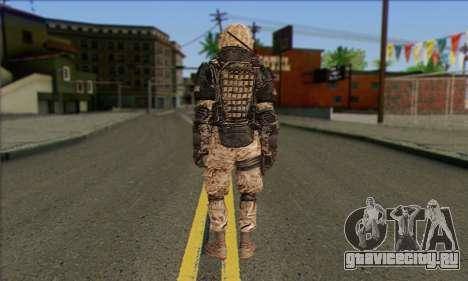 Task Force 141 (CoD: MW 2) Skin 15 для GTA San Andreas второй скриншот