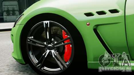 Maserati Gran Turismo MC Stradale 2014 для GTA 4 вид сзади слева
