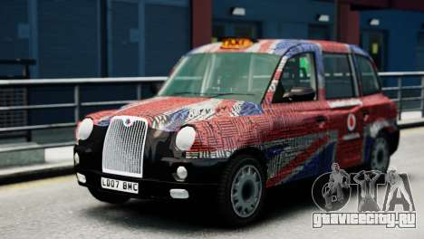 London Taxi Cab v2 для GTA 4