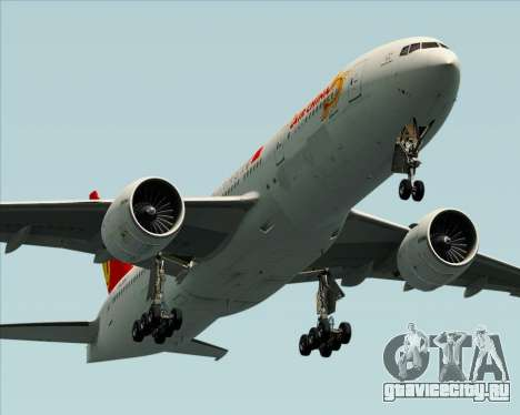 Boeing 777-200ER Air China для GTA San Andreas колёса