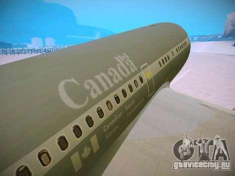 Canadian Forces Airbus CC150 Polaris для GTA San Andreas двигатель