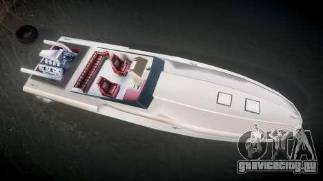 GTA San Andreas Jetmax для GTA 4 вид справа