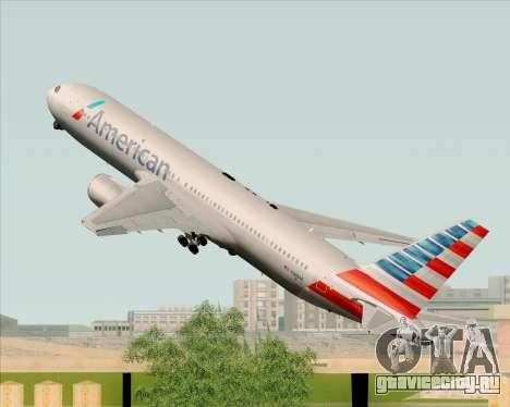 Boeing 767-323ER American Airlines для GTA San Andreas