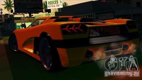 GTA 5 Entity XF для GTA San Andreas вид слева