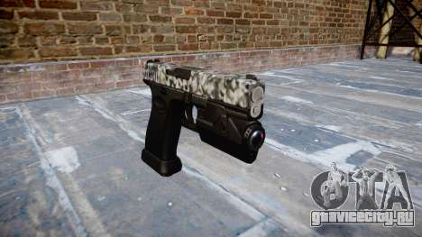 Пистолет Glock 20 diamond для GTA 4