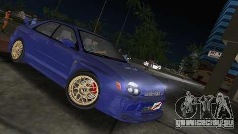 Subaru Impreza WRX 2002 Type 2 для GTA Vice City