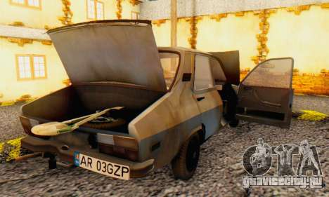 Dacia 1310 MLS Rusty Edition 1988 для GTA San Andreas вид сбоку