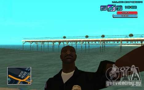 C-HUD by WH edited Mr_Zlo для GTA San Andreas второй скриншот