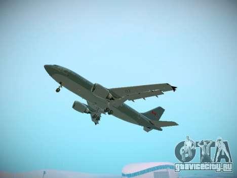 Canadian Forces Airbus CC150 Polaris для GTA San Andreas салон
