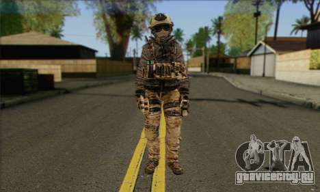 Task Force 141 (CoD: MW 2) Skin 13 для GTA San Andreas