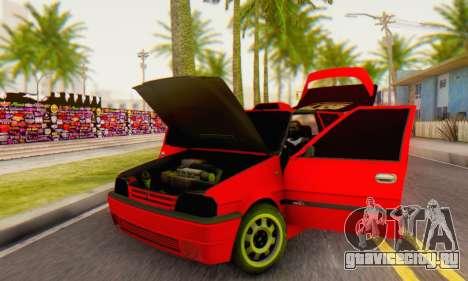 Dacia Super Nova Tuning для GTA San Andreas вид сзади