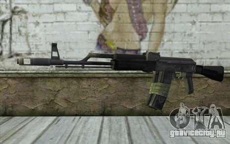 AK-101 from Battlefield 2 для GTA San Andreas