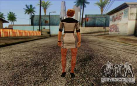 Tracy from Batman Arkham Origins для GTA San Andreas второй скриншот