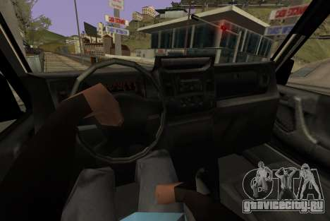 Benefactor Dubsta 6x6 для GTA San Andreas вид сзади слева