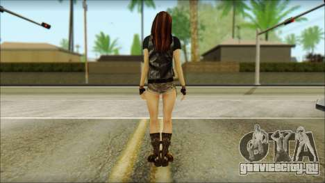 Bike Girl для GTA San Andreas второй скриншот