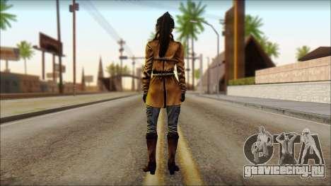 Tomb Raider Skin 2 2013 для GTA San Andreas второй скриншот