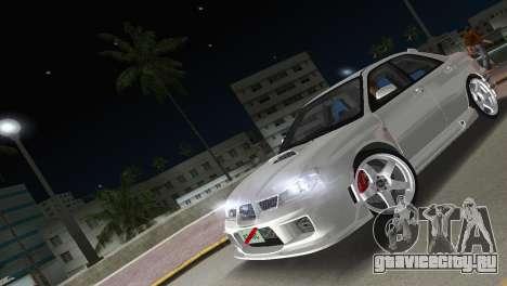 Subaru Impreza WRX STI 2006 Type 3 для GTA Vice City вид изнутри