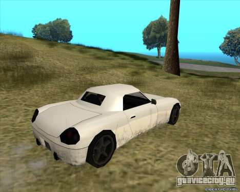 Stinger для GTA San Andreas вид справа