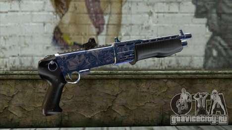Graffiti Shotgun v2 для GTA San Andreas второй скриншот