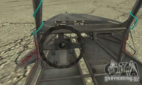Space Docker from GTA V для GTA San Andreas вид сзади слева