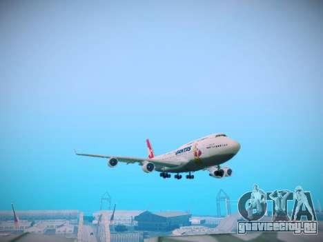 Boeing 747-438 Qantas Boxing Kangaroo для GTA San Andreas