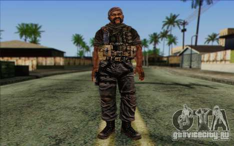Солдат from Rogue Warrior 3 для GTA San Andreas