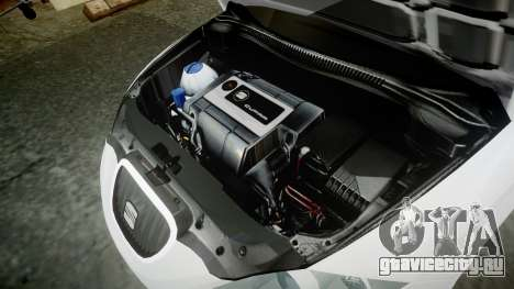 Seat Leon Guido Belsito для GTA 4 вид сзади