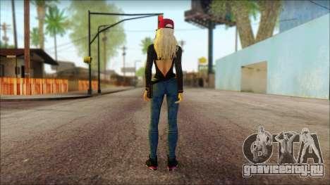 Eva Girl v2 для GTA San Andreas второй скриншот