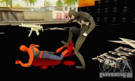 Skin The Amazing Spider Man 2 - Molecula Estable для GTA San Andreas шестой скриншот